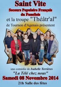 théâtre st vite 8 novembre 2014