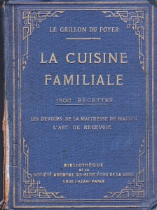 Couverture livre cuisine